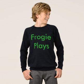 Frogie Plays Sweatshirt