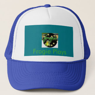 Frogie Plays trucker hat