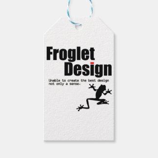 froglet design gift tags