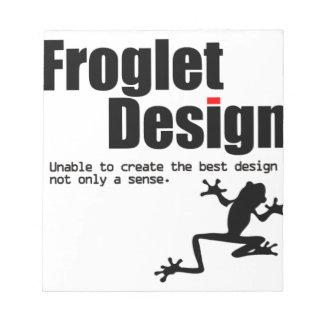 froglet design notepad