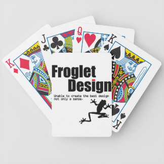 froglet design poker deck