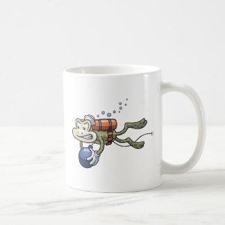 Frogman Basic White Mug