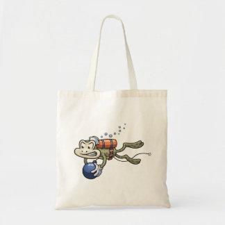 Frogman Budget Tote Bag