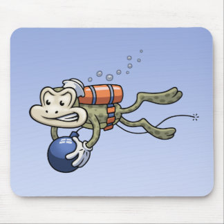 Frogman Mouse Pad