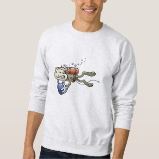 Frogman Pullover Sweatshirt