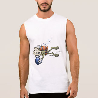 Frogman Sleeveless T-shirts