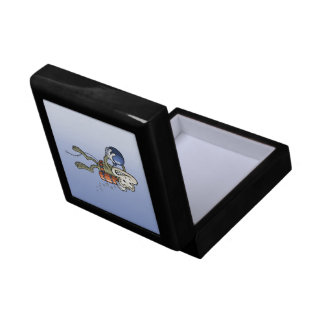 Frogman Small Square Gift Box