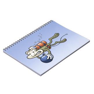 Frogman Spiral Note Book