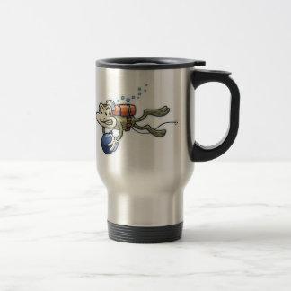 Frogman Stainless Steel Travel Mug