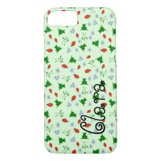 Frogs and Bugs iPhone 7 Case