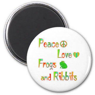 Frogs and Ribbits Refrigerator Magnets