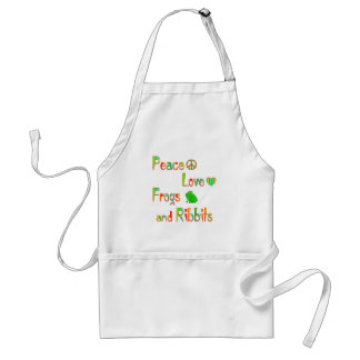 Frogs and Ribbits Standard Apron