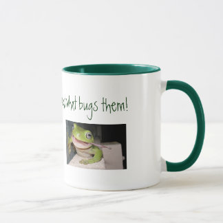 Frogs are lucky ... mug
