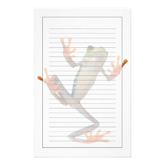 Frogs belly stationery design