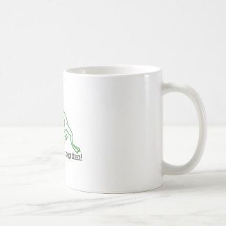 Frogs Have It Easy Basic White Mug