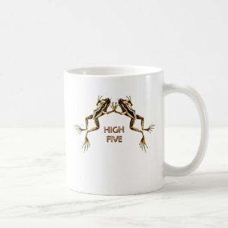 Frogs High Five Mugs