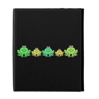 Frogs! iPad Folio Case