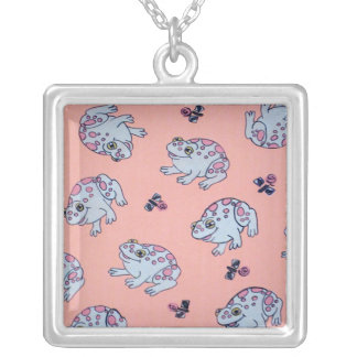 Frogs Necklace