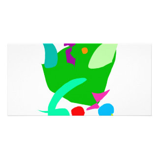 Frogs Never Die As Humans with Wits Picture Card