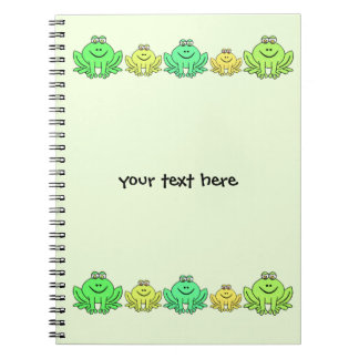 Frogs! Note Book