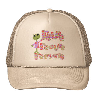 Frogs Reuse Reduce Recycle T-shirts and Gifts Mesh Hats