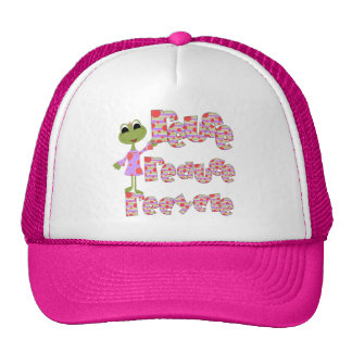 Frogs Reuse Reduce Recycle T-shirts and Gifts Hats