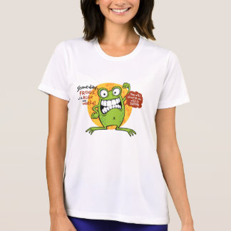 Frogs Rule Ladies T-Shirts