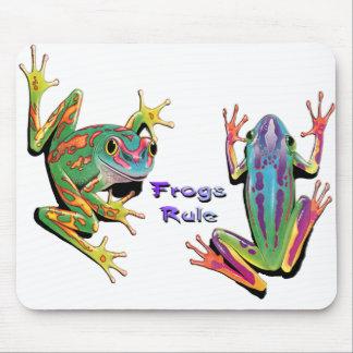 Frogs Rule Mousepad