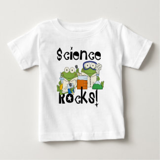 Frogs Science Rocks Baby T-Shirt