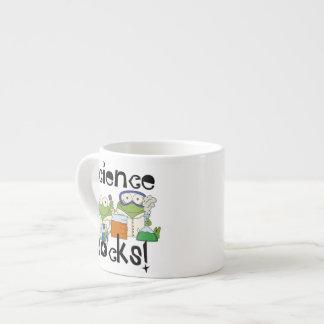 Frogs Science Rocks Espresso Cup