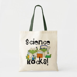 Frogs Science Rocks Tote Bag