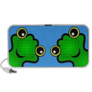 Frogs Notebook Speaker
