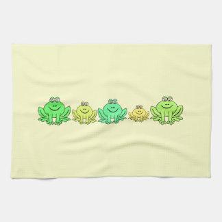 Frogs! Tea Towel
