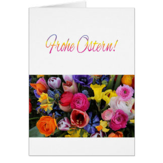 Frohe Ostern German Happy Easter Card