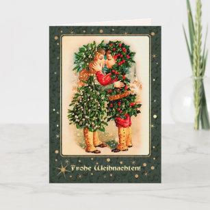 frohe weihnachten german vintage cards zazzle au. Black Bedroom Furniture Sets. Home Design Ideas