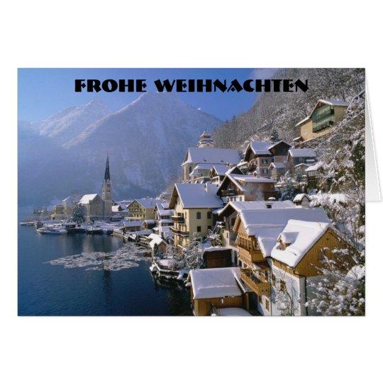 FROHE WEIHNACHTEN  (MERRY CHRISTMAS) CARD