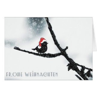Frohe Weihnachten / Merry Christmas Greeting Card