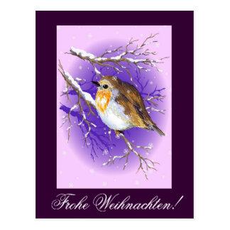 Frohe Weihnachten! Postcard
