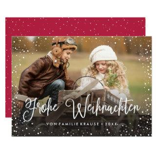 Frohe Weihnachten   Weihnachtskarte Card
