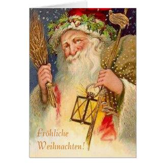 Fröhliche Weihnachten! Card