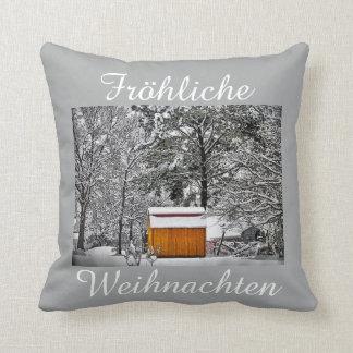 Fröhliche Weihnachten Kissen Cushion