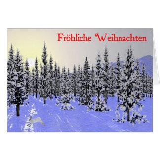 Frohliche Weihnachten - Winter Solstice Cards