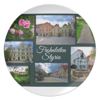 Frohnleiten – One of Styria's prettiest towns Plate