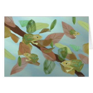 Frolicking Frogs Cards