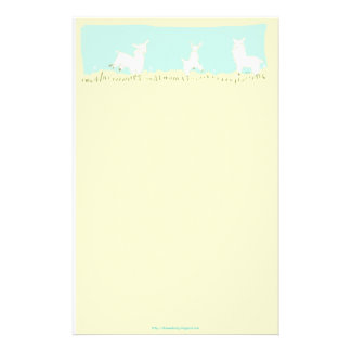 Frolicking Llama Stationery