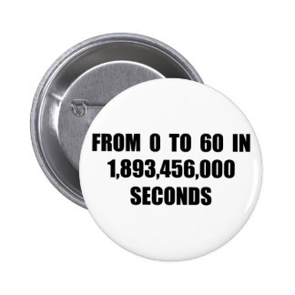 From  0 to 60 in seconds buttons