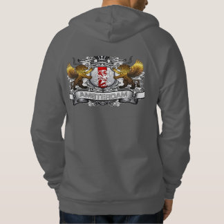 from Amsterdam shield back Hoodie