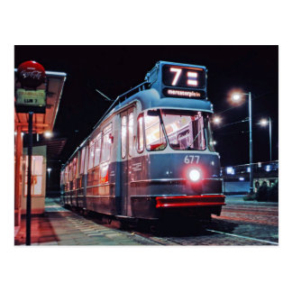 from Amsterdam tram Postcard