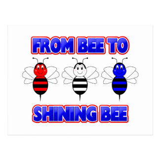From Bee To Shining Bee Postcard