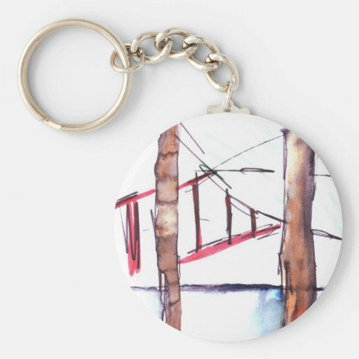 From Behind the Bars Key Chain